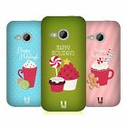 HEAD CASE DESIGNS HOLIDAY TREATS HARD BACK CASE FOR HTC ONE MINI 2