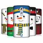 HEAD CASE DESIGNS MR SNOWMAN HARD BACK CASE FOR LG G3