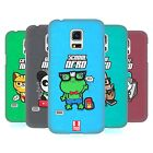 HEAD CASE DESIGNS NERDY TOON ANIMALS HARD BACK CASE FOR SAMSUNG GALAXY S5 MINI