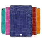 HEAD CASE DESIGNS CROCODILE SKIN PATTERN SOFT GEL CASE FOR APPLE iPAD AIR 2