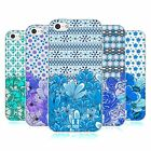 HEAD CASE DESIGNS FLORAL BLUE SOFT GEL CASE FOR APPLE iPHONE 5C