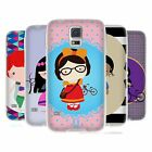 HEAD CASE DESIGNS PRINCESS HIPSTERS SOFT GEL CASE FOR SAMSUNG GALAXY S5 S5 NEO