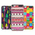 HEAD CASE DESIGNS NATALE HIPPIE COVER RETRO RIGIDA PER APPLE iPOD TOUCH 5G 6G