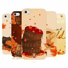 HEAD CASE DESIGNS HERBST SOFT GEL HÜLLE FÜR APPLE iPHONE 5 5S SE