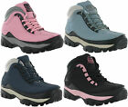 Womens Steel Toe Cap Groundwork Ladies Safety Work Hiking Leather Boots UK 3-8