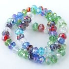 Faceted Round Crystal Glass Loose Beads Charm Fit Nice Jewelry Diy Findings