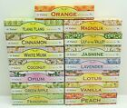 120 x Tulasi Fruit & Flowers Incense Joss Sticks Choice Of Fragrance 6 x 20 Pack