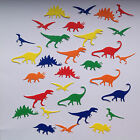 Small Dinosaur Die Cut Shapes - Assorted colours in sets of 30