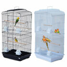 "Bird Cage Large Parrot 19""L x 14""W x 36""H Cockatiel Pet Supply Detachable"