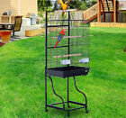 56â�³ Bird Cage Large Parrot Finch Play Top House Parakeet Perch Pet Supply Wheel фото