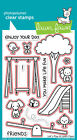 Let's Play - Clear Stamps OR Craft Dies -Lawn Fawn LF848 LF849 - Spring - Summer