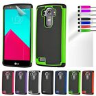 Shock Proof Cover For LG G4 H815 818 Hybrid Fit Hard Silicone Armour Phone Case