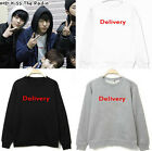 2016 Kpop B.A.P Jung Dae Hyun Delivery Style Sweater Hoodie Men Women's Pullover
