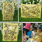 2/5/6/10/15Pcs Sand Painting Cartoon DIY Toys Creative Art Pattern Random   tu