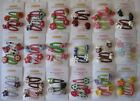 Gymboree Hair Clips New Girls Accessories Many lines 2 or 4 packs Nwt Twins