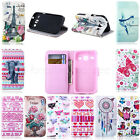 Pretty Leather Flip Stand Wallet Rubber Soft Case Cover For HTC One M9 -Landir