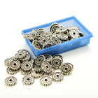 100pcs Tibet Silver Loose Spacer Beads Charms Jewelry Making Findings DIY Beads8