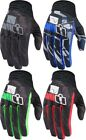 Icon Anthem Primary Textile Motorcycle Riding Gloves Mens All Sizes & Colors