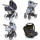 ABC Design Mamba or Cobra Plus Package Set (Pushchair, Carrycot, Car Seat)