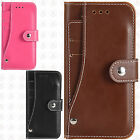 Apple iPhone 6 / 6s Leather Slide Out Pocket Wallet Pouch Cover +Screen Guard