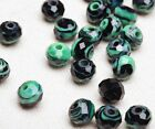 Wholesale 10 pcs 10mm Rondelle Faceted Lampwork Glass Loose Spacer Beads New