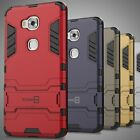 For Huawei Honor 5X Case Hard Kickstand Dual Layer Protective Hybrid Phone Cover