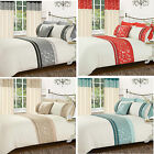 Modern Luxury Diamante Sparkle Bedding Set Single Double King Cushion Cover