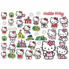 HELLO KITTY WALL STICKERS 40 PIECES KIDS BEDROOM WALL & FURNITURE STICKERS