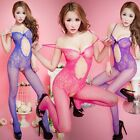 Colors Hollow flower Sexy Fishnet Tight Lingerie Open crotch Tights Underwear