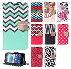 For Kyocera Hydro View Premium Leather Wallet Case Pouch Flip Phone Cover
