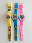 Boy Kid Child Girl Minions Frozen Digital rubber Silicone Band Wrist Watch her