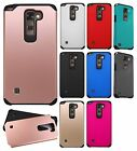 LG Stylo 2 HARD Astronoot Hybrid Rubber Silicone Case Phone Cover + Screen Guard