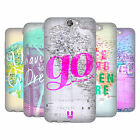 HEAD CASE DESIGNS WANDERLUST STATEMENTS SOFT GEL CASE FOR HTC ONE A9