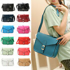 Women Girls PU Leather Handbag Crossbody Satchel Shoulder Messenger Tote Bag