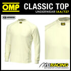 SALE! IAA/727 OMP RACING FIREPROOF LONG SLEEVE CREW NECK TOP NOMEX BASE LAYER