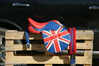 SELLE CSO OBSTACLE CUIR LOOK ENGLISH FLAG EQUIPEE TOP QUALITY