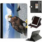 Eagle Big Bird Luxury Apple ipad 360 swivel leather case cover with card slots