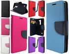 LG Logos US550 Premium Leather 2 Tone Wallet Case Pouch Flip Cover Accessory