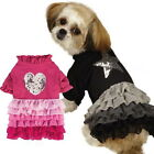 Choose Size & Color - East SIde Collection - GLIMMER RUFFLE - Dog Puppy Dress