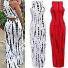 Trendy Lady Women Sexy Sleeveless Bodycon Stretch Party Club Long Maxi Dress