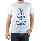 T-Shirt Vardy Leicester City Football Leicester Keep calm and you'll be Vardy