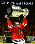 Brad Richards Chicago Blackhawks 2015 Stanley Cup Trophy Photo (Select Size)