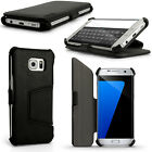 PU Leather Skin Flip Case for Samsung Galaxy S7 Edge SM-G935 Stand Folio Cover