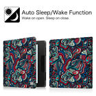 Leather Case Cover with Auto Sleep/Wake Feature for Amazon New Kindle Oasis 2016