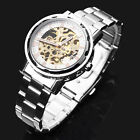 Waterproof Mechanical Transparent Stainless Steel Classic Men's New Hot