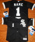 Chicago White Sox AT Cool Base MLB Majestic Kids 4/7 Replica Jersey add name #