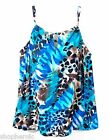 Miraclesuit Womens Tankini Bathing Suit Halter Top Swimsuit Size 6/8/10/12/14/16