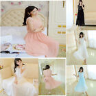 Fashion Women's Clothing Long skirt sleeveless Chiffon bouffancy Dresses