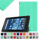 """Amazon Kindle Fire 7 5th Gen 2015 Model 7"""" Ultra Slim Leather Case Cover"""