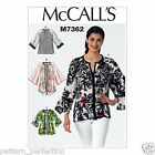 McCall's 7362 Sewing Pattern to MAKE Misses' Raglan Sleeve Tops and Jackets